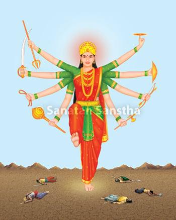 श्री दुर्गादेवी Durga devi