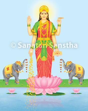 श्री लक्ष्मी Shri Lakshmi
