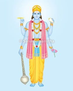 Why should one chant specific Lord Vishnu mantra for accomplishing a