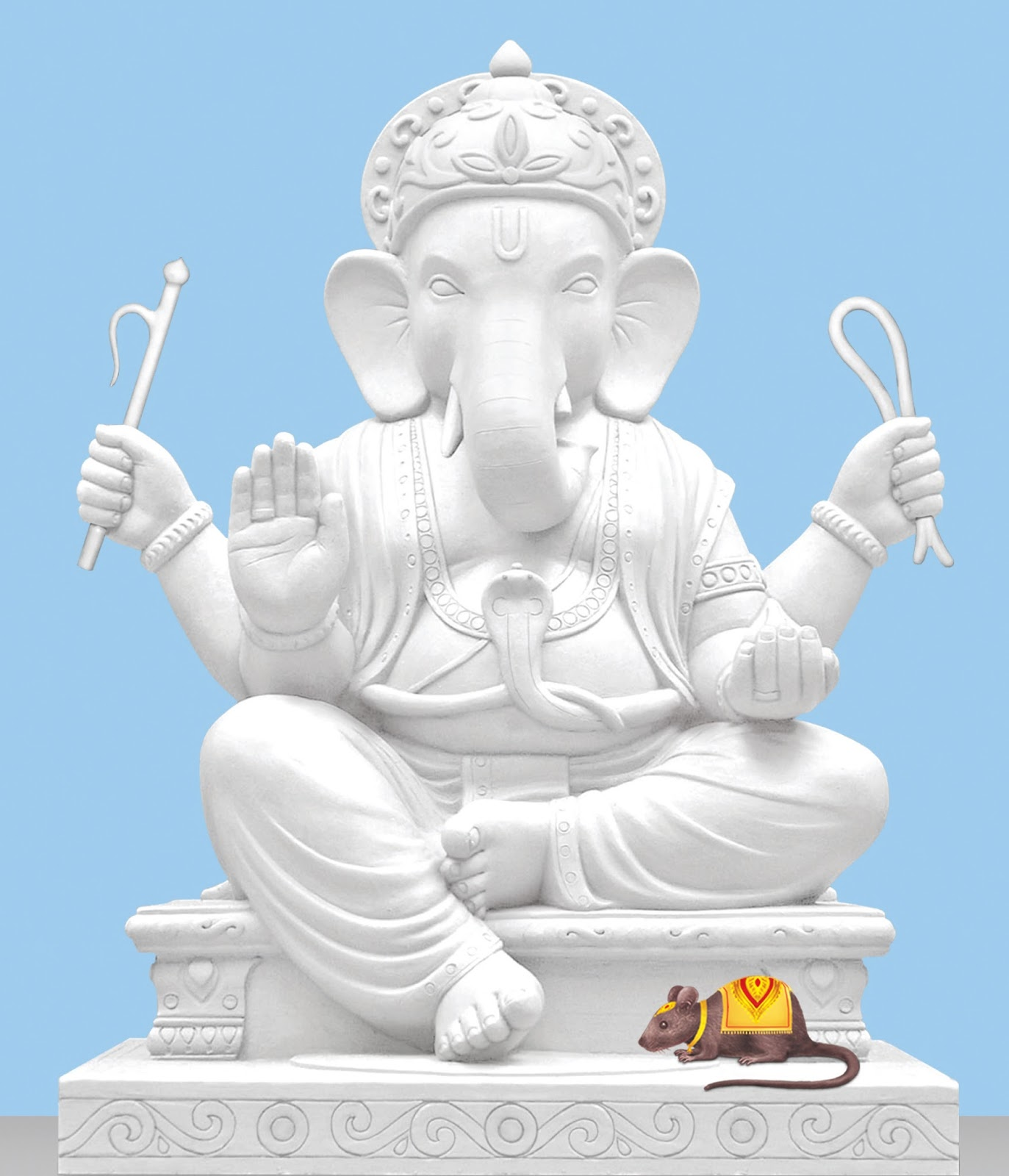 Sculpture : Shri Ganesh Idol (28.3% sattvikta)