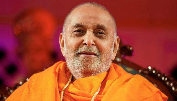 Pramukh Swami Maharaj Head Of Baps Swaminarayan Sanstha Passes