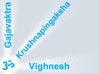 Shri Ganapati and His different names - Sanatan Sanstha