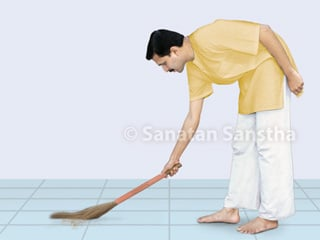 achars general conduct associated with sweeping sanatan sanstha achars general conduct associated with