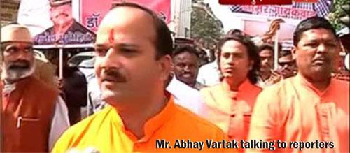 'Maharashtra 1' TV channel insults Sanatan's Spokesperson