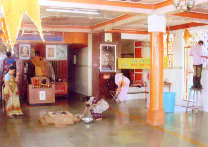 Temples are the source of Energy. Hence, cleaning temples to maintain their sanctity.