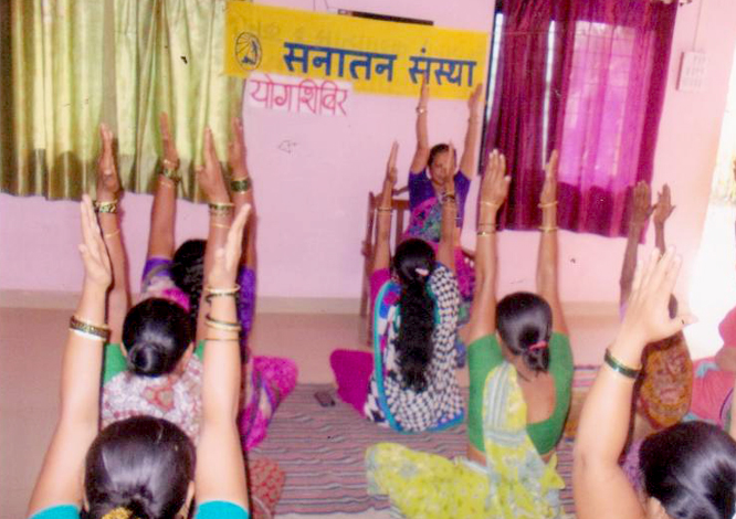 Yog shibir for women