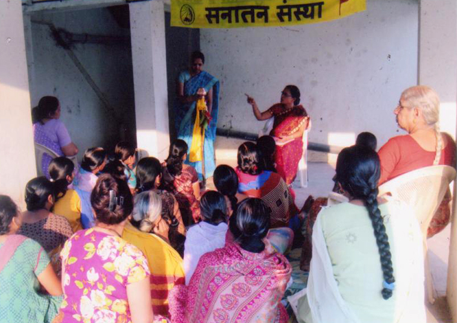 Explaining the importance of celebrating new year on Gudipadwa as per Hindu Dharma