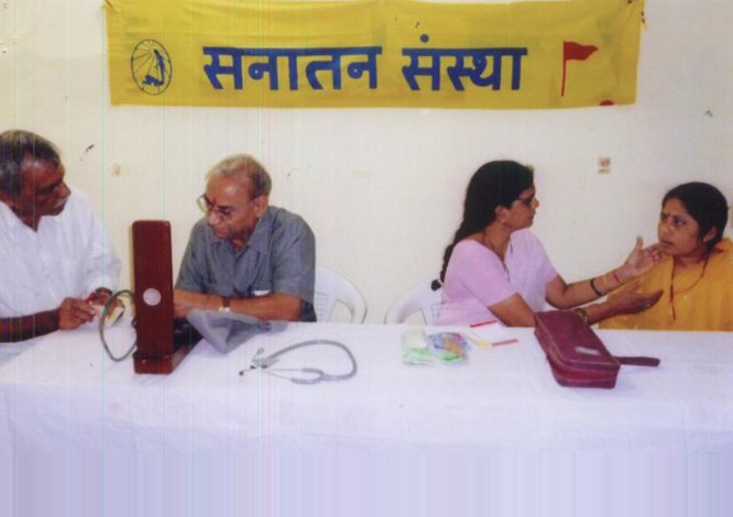 Free health checkup and consultation for needy people
