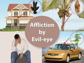 Evil eye Symptoms which indicate that an individual is