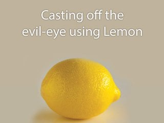 Method of protection from evil-eye using salt and mustard