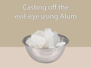 Method of casting off the evil-eye using Camphor - Sanatan
