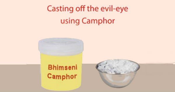 Method of casting off the evil-eye using Camphor - Sanatan Sanstha