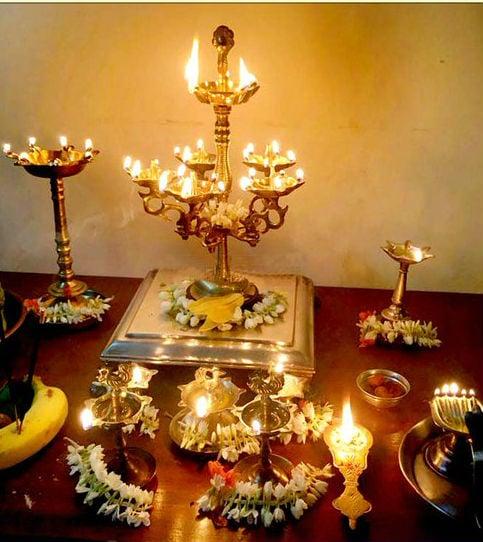 The spiritual importance of Deep Poojan on the day of Ashadha Deep