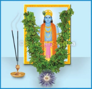 Worship of Shri Krushna