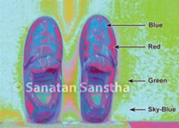 H.H. Bhaktaraj Maharaj's shoes emitting vibrations – Study through scientific instruments