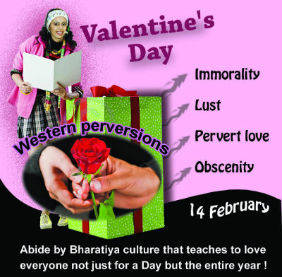 HJS call youth to oust 'Valentine's Day'