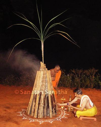 Method of celebration of Holi