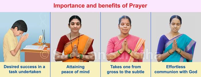 Importance and benefits of Prayer - Sanatan Sanstha