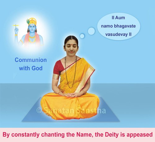 Spiritual benefits of chanting God's Name - Sanatan Sanstha