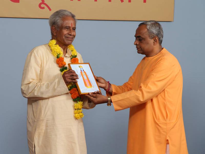 पंचम अखिल भारतीय हिन्दू अधिवेशन में श्रीलंका के श्री. मरवनपुलावू सच्चिदानंदनजी ने प्राप्त किया ६४ प्रतिशत आध्यात्मिक स्तर