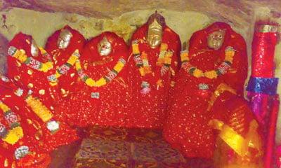 परिहारों की कुलदेवी : गाजणमाता मंदिर