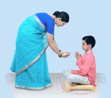 Celebrating birthday as per Hindu Dharma - Sanatan Sanstha