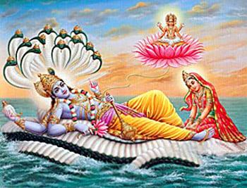 Shri Vishnu & Mahalakshmi