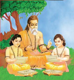 valmikirishi_guru_shishya