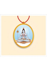 Locket : Bhagvan Shiv, Shri Durga devi, Thread